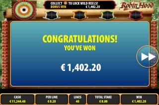 Lady Robin Hood Mobile Slot Big Win