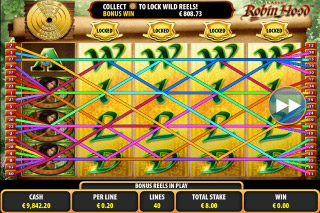Lady Robin Hood Mobile Slot Expanded Wilds