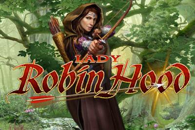 Lady Robin Hood Slot Logo