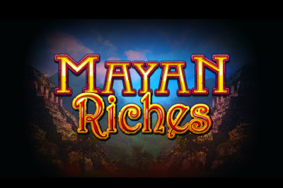Mayan Riches Mobile Slot Logo
