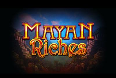 Mayan Riches Mobile Slot Logo