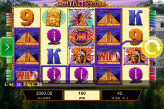Mayan Riches Mobile Slot Screenshot