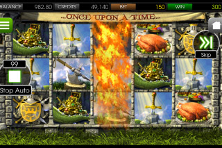 Once Upon a Time Slot Flaming Wild