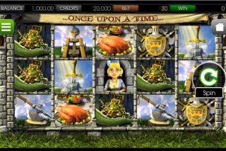 Once Upon a Time Mobile Slot Screenshot