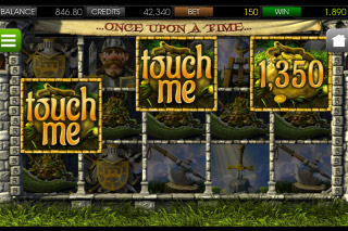 Once Upon a Time Mobile Slot Touch Me Bonus