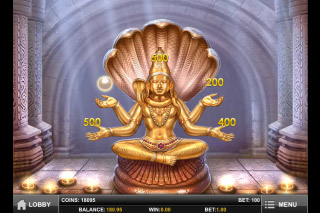 Pearls of India Mobile Slot Bonus Game 2