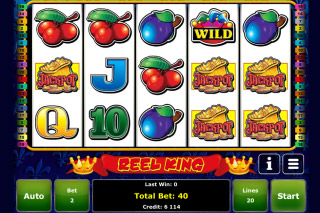 Reel King Mobile Slot Screenshot