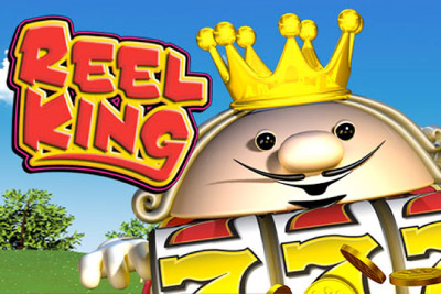 Reel King Mobile Slot Logo