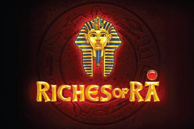 Riches of Ra Slot Logo