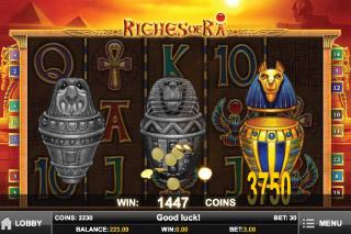 Riches of Ra Pick Me Bonus