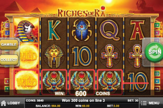 Riches of Ra Slot Wilds