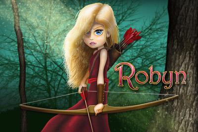 Robyn Mobile Slot Logo
