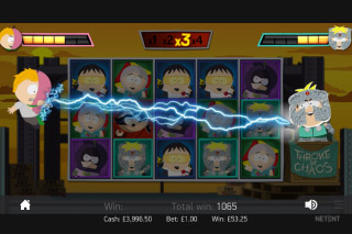 South Park Reel Chaos Bonus Game