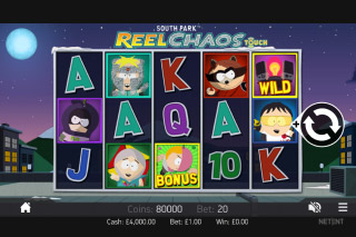 South Park Reel Chaos Mobile Slot Screenshot