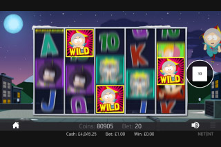 South Park Reel Chaos Mobile Slot Wild
