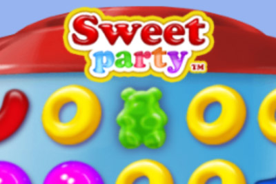 Sweet Part Mobile Slot Logo