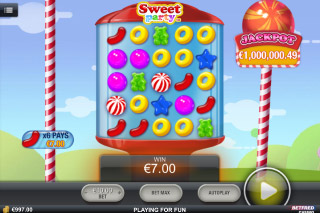 Sweet Part Mobile Slot Screenshot