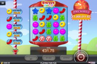Sweet Part Mobile Slot Win
