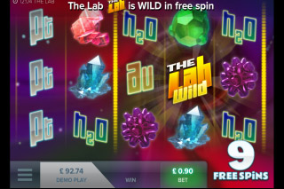 The Lab Mobile Slot Free Spins Feature