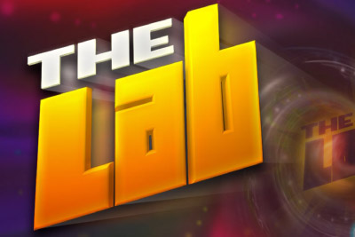 The Lab Mobile Slot Logo