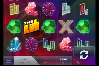 The Lab Mobile Slot Screenshot