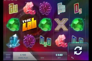 The Lab Mobile Slot Screenshot