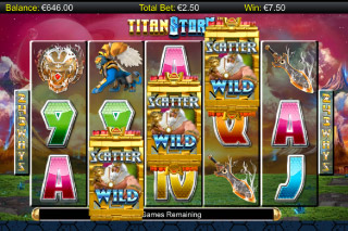 Titan Storm Mobile Slot Free Spins