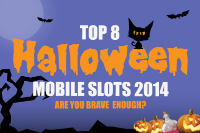 Lucky's Top 8 Halloween Mobile Slots 2014