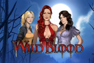 Wild Blood Mobile Slot Logo