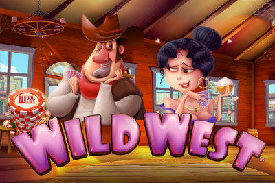 Wild West Mobile Slot Logo