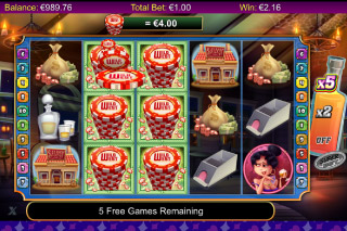 Wild West Mobile Slot Stacked Wilds