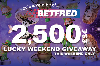Win Your Share of 2,500 Cash At BetFred Mobile Casino this Weekend