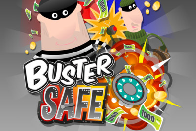 Buster Safe Mobile Slot Logo