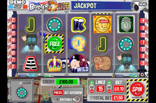 Buster Safe Mobile Slot Screenshot