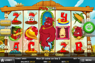 Crazy Cows Mobile Slot Wild