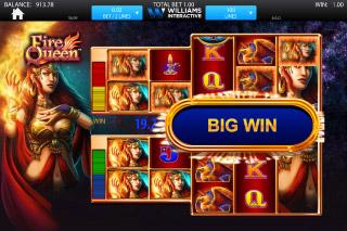 Fire Queen Mobile Slot Big Win