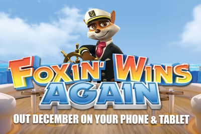 Foxin' Wins Again Mobile & Tablet Slot Out December 2014