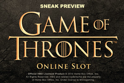 Game Of Thrones Slot Video Sneak Peak