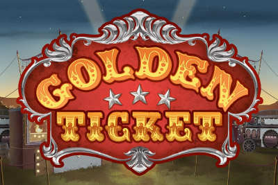 Golden Ticket Mobile Slot Logo