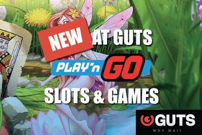 New Guts Mobile Slots Include Play' n Go Games