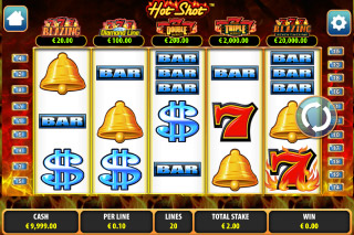 Hot Shot Mobile Slot Screenshot