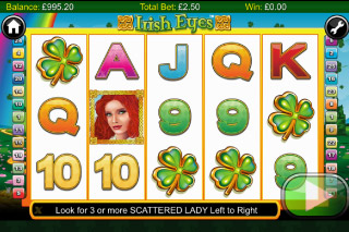 Irish Eyes Slot Screenshot