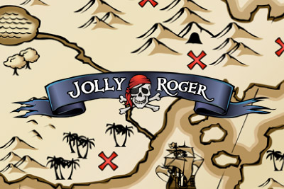 Jolly Roger Slot Logo