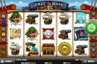 Jolly Roger Slot Screenshot