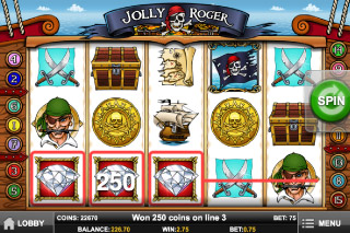 Jolly Roger Mobile Slot Win