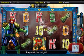 Judge Dredd Mobile Slot Bonus