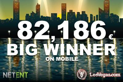 Lucky Mega Fortune Touch Jackpot Winner at LeoVegas