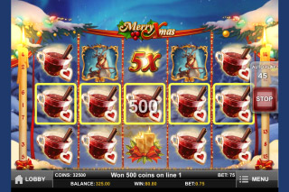 Merry Xmas Mobile Slot 5 of a Kind
