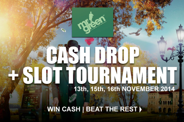 Win Cash & Beat the Rest With Cash Drop & Slot Tournament