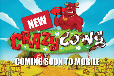 New Crazy Cows Mobile Slot Out November 6th